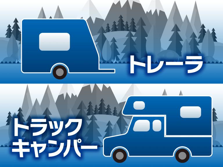 トレーラ/トラックキャンパー
